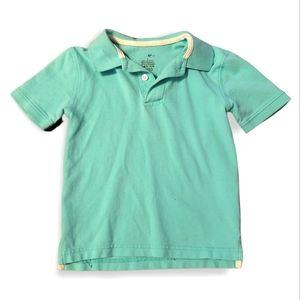 Size 4 Green Polo Tee Collared Tshirt